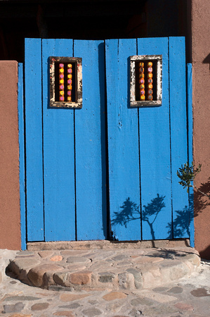 Tubac Door In Blue